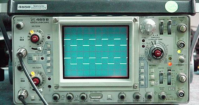 Oscilloscope Image Of B : Tektronix b mhz portable oscilloscope with dm dmm
